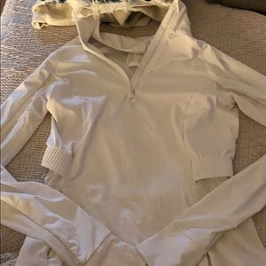 Fableticz white running jacket